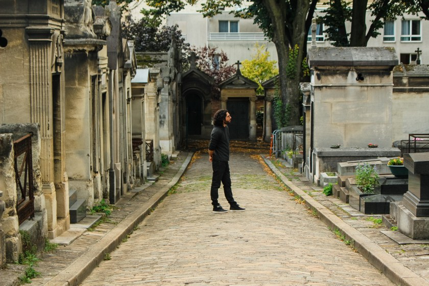 Michele in Montmarte cemetery by Nneya Richards