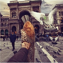 Milan, special place in my heart. Spent many afternoons on Corso di Vittorio Emanuele. @muradosmann
