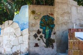 Muraleando courtyard