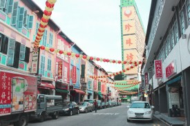 colourful Chinatown
