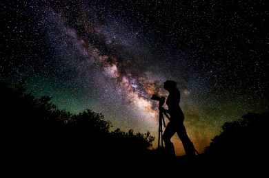 The Astrophotographer, Andrew Fritz