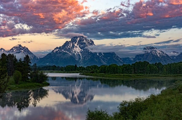 Good Morning Tetons, Bill Bunton