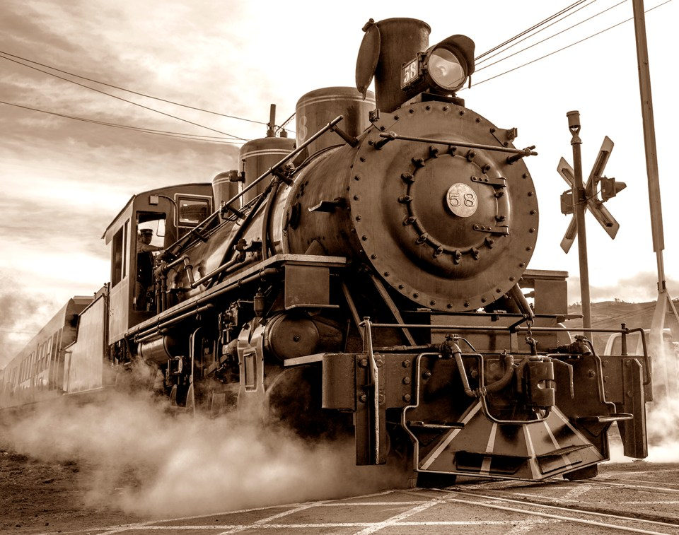 Full Steam Ahead by Patti Mitchell