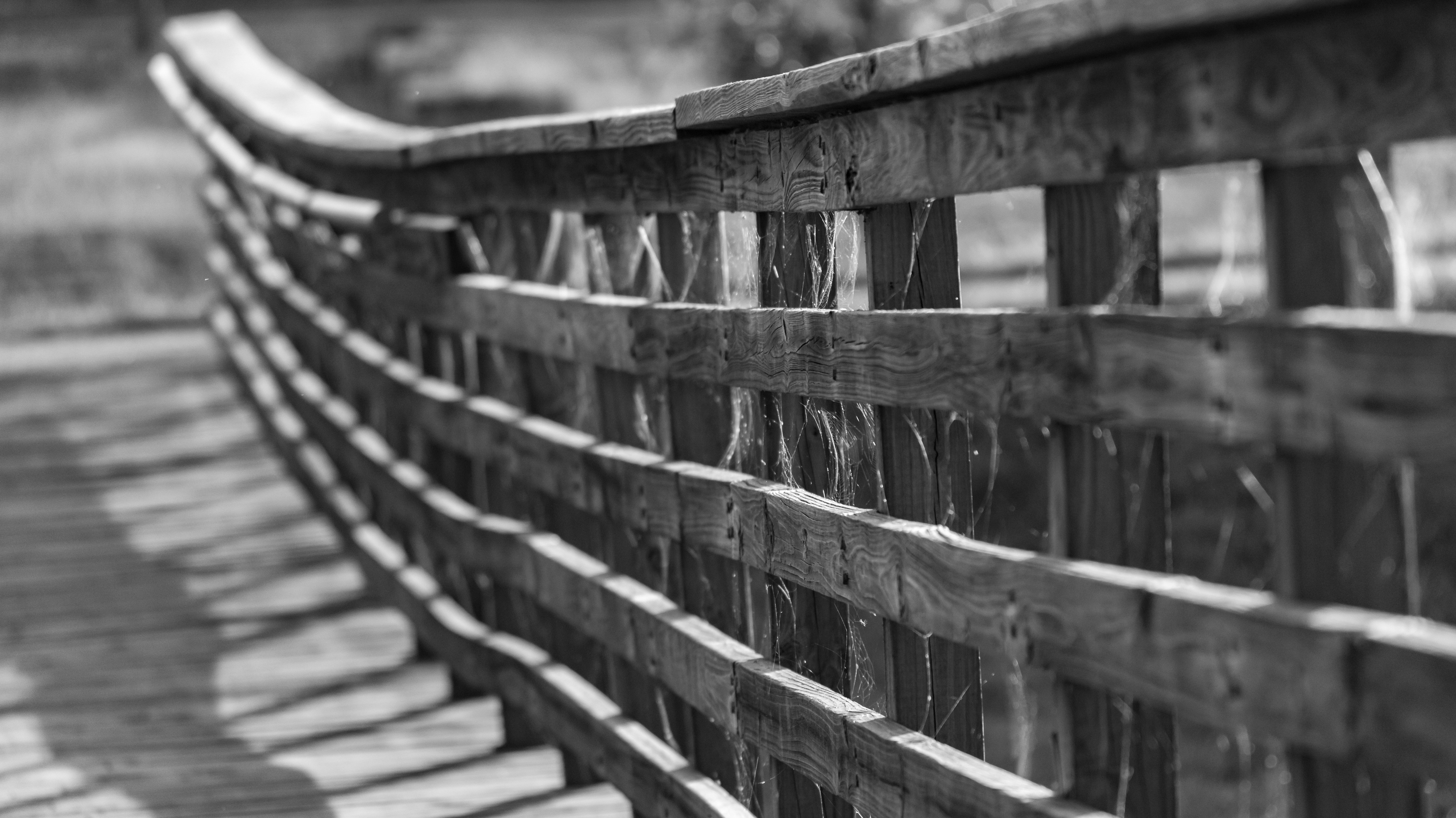 Pier in Black and White by Allen Irby