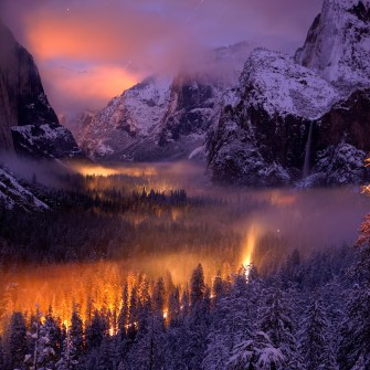 Phil Hawkins - Yosemite Valley at Dusk