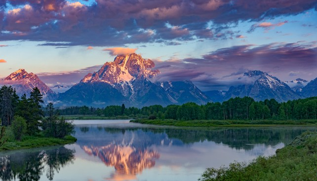 """Good Morning Tetons"" by Bill Bunton"