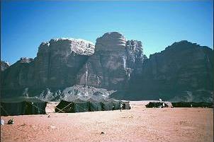 Obóz w Wadi Rum, fot. Stefan Stefański