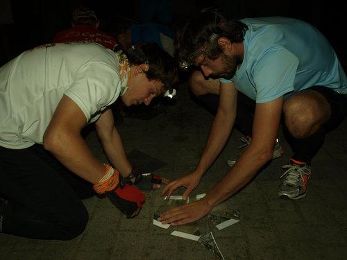 Rok temu w Mochach biegaliśmy prolog łączący orientację precyzyjną z labiryntem. Tegoroczny prolog to puzzle na mapce satelitarnej. Foto strona organizatora