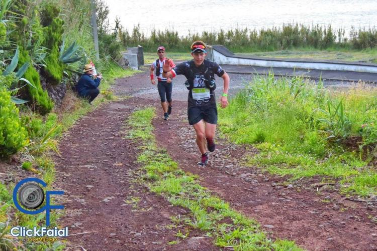 Azores Ultra Trail, Kamil Leśniak na trasie. Fot. Materiały organizatora
