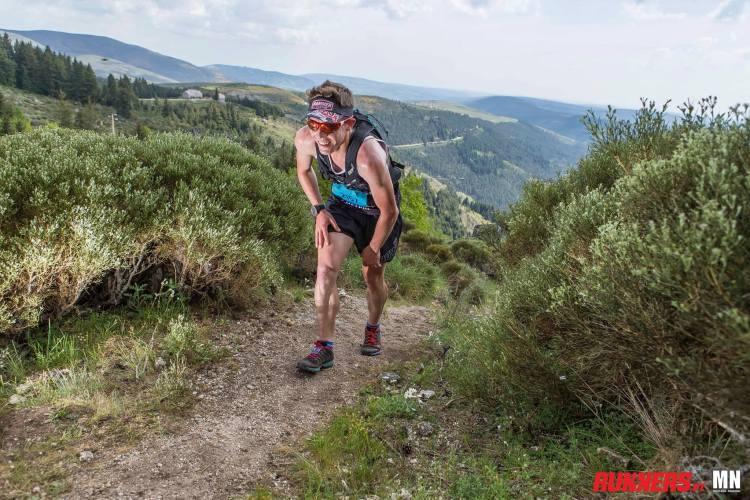 Bieg treningowy w parku Estrela w Portugalii. Kamil Leśniak. Fot. Materiały organizatora
