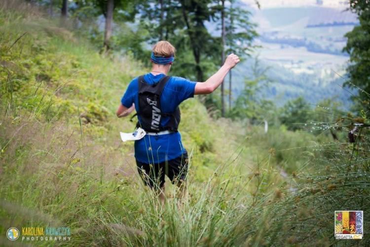 Trasa Maratonu Górskiego Leśnik nie należy do najłatwiekszych i nie zawsze prowadzi po góskich highwayach. Fot. Karolina Krawczyk