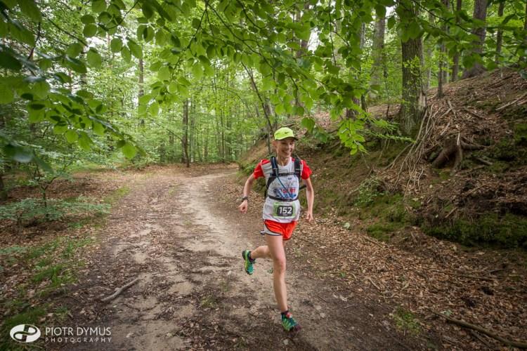 Zwyciężczyni Tricity Trail. Fot. Piotr Dymus