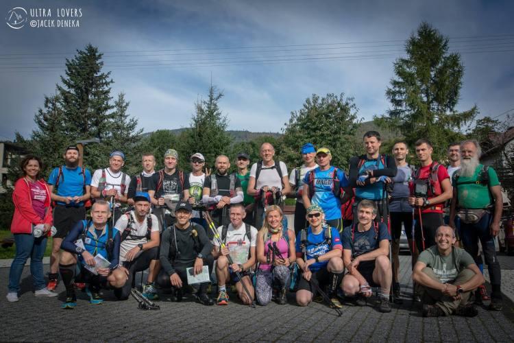 Uczestnicy Beskidy Ultra Trail Challenge 260 km. Fot. Jacek Deneka/Ultralovers