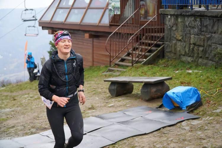 Tamara Mieloch na trasie