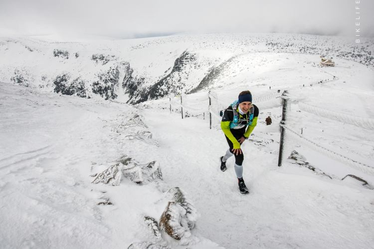 Podejście pod Śnieżkę. ZUK 2017. Fot. Bikelife