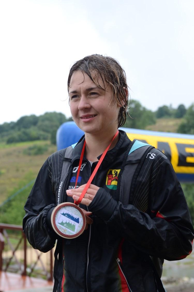 Viola Piatrouskaya na pierwszym Chudym. Nie zauważyła mety i poleciała pod prąd długą trasą aż do ostatniego punktu, gdzie cofnęli ją wolontariusze.