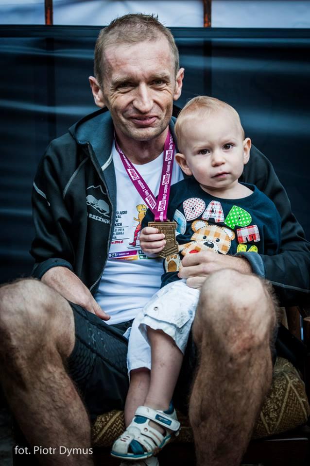 Rafał z synem