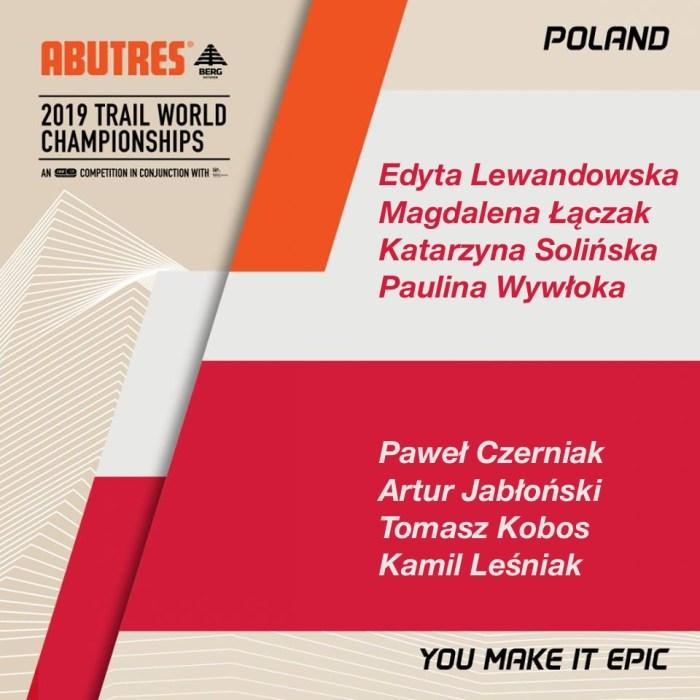 Mistrzostwa świata w trailu 2019 Polska