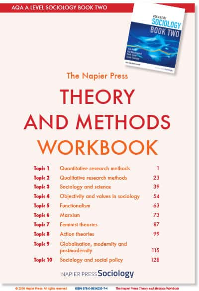 Book Two Workbooks Sociology Napier Press Sociology