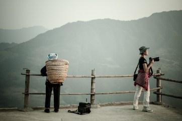November 2008 PingAn hiking, Rice Terraces, Guilin, Guangxi Zhuang Region, China