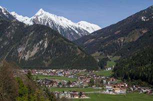 April 2012 Mayrhofen, Austria
