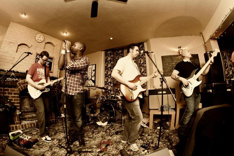 "December 2009 The ""404"" gig, Cuckfield, UK"