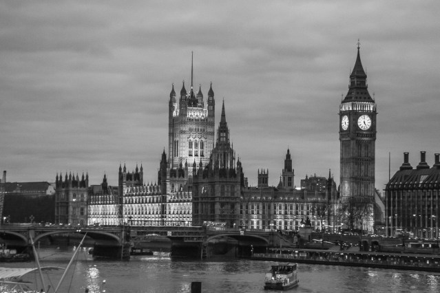January 2007 Big Ben and Westminster, London, UK