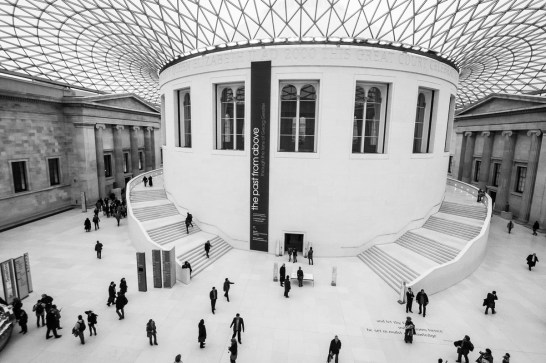 February 2007 The British Museum, Great Russell Street, London, UK