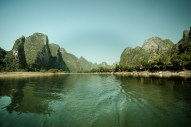 November 2008 Li River, Guilin, Guangxi Zhuang Region, China