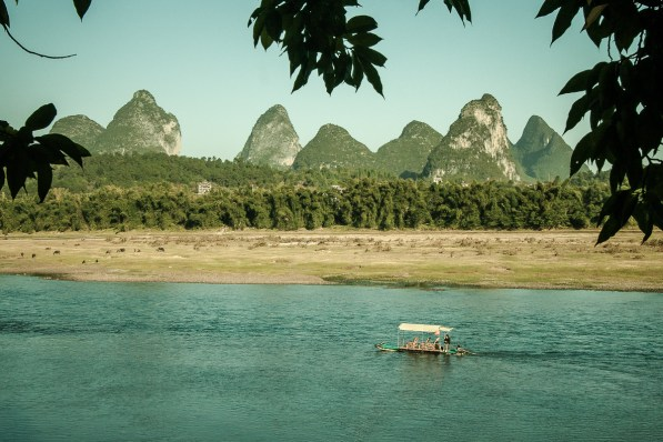 November 2008 Li River, Guilin, Guangxi Zhuang Region, China