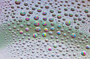 June 2011 Wet iPad screen, Millennium Drive, London, UK