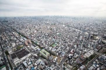 May 2013 From Tokyo Skytree (東京スカイツリ), Sumida, Tokyo, Japan