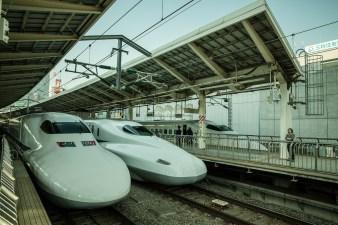 May 2013 Shinkansen, Tokyo, Japan