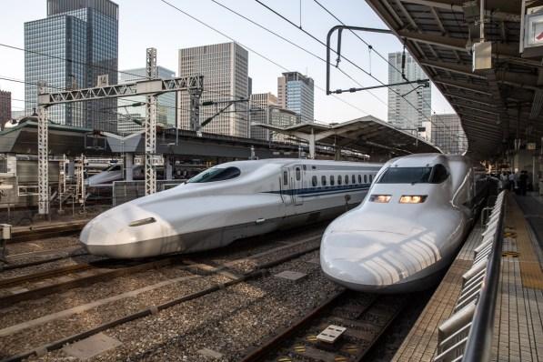May 2013 Shinkansen, Nagoya, Japan