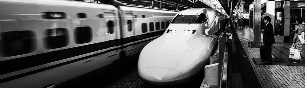 May 2013 Shinkansen, Kyoto, Japan