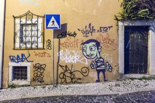 October 2014, Streets of Lisbon, Portugal