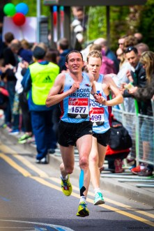 April 2017, London Marathon.