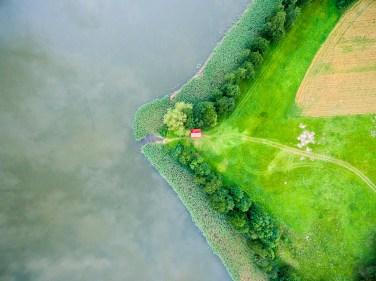 August 2017, Mazury Lake-side, Lake Niegocin, Poland