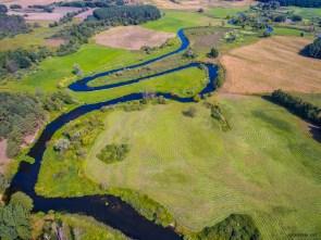 August 2018, Drweca River, Brodnica, Poland