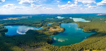 August 2020, Lake Robotno, Poland