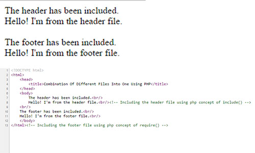 php-combination-result