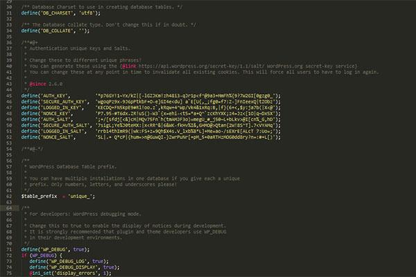 security-WordPress-install-manual