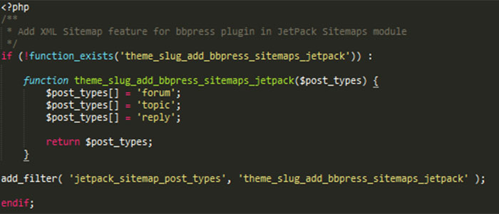 xml sitemap support for custom post type using jetpack napitwptech