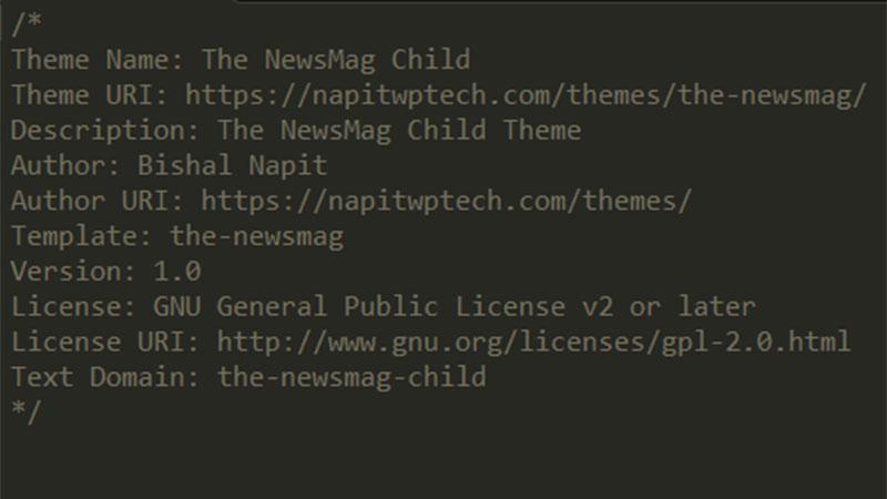 Tutorial On Creating Wordpress Child Theme Napitwptech