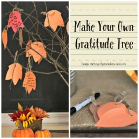 Make Your Own Gratitude Tree or Jar
