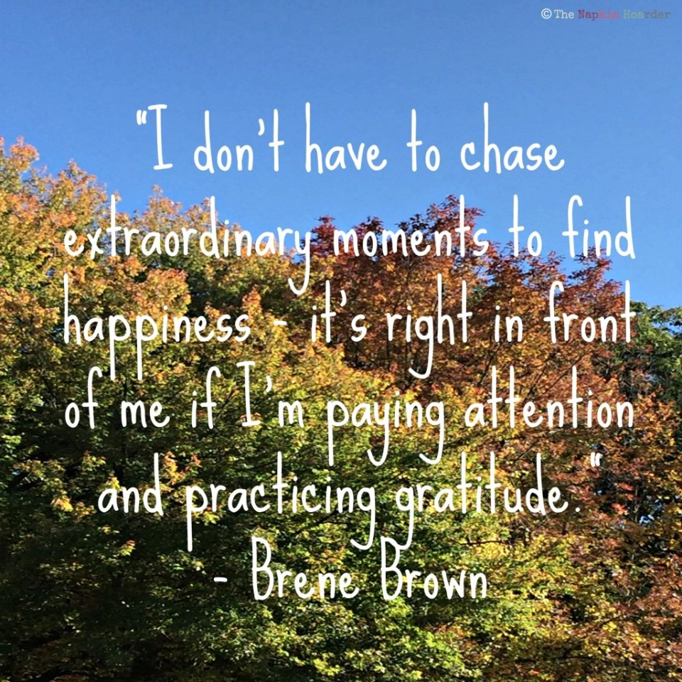 Brene Brown Quote Gratitude