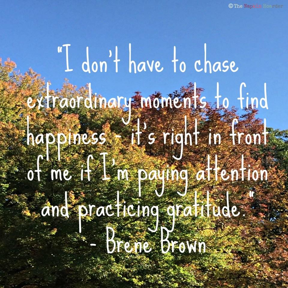Brene Brown Quote Gratitude