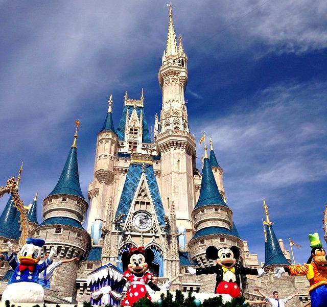 Mickey Mouse Magic Kingdom Disney World