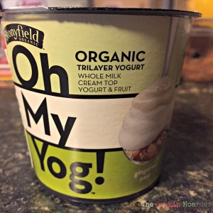 Stonyfield's Oh My Yog! Gingered Pear