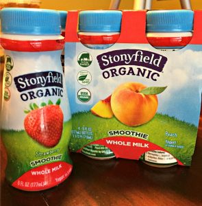 Stonyfield Organic Whole Milk Smoothie